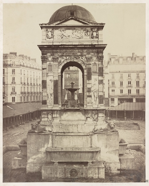 [Fountain of the Innocents, Paris, France] / Ch. Marville.