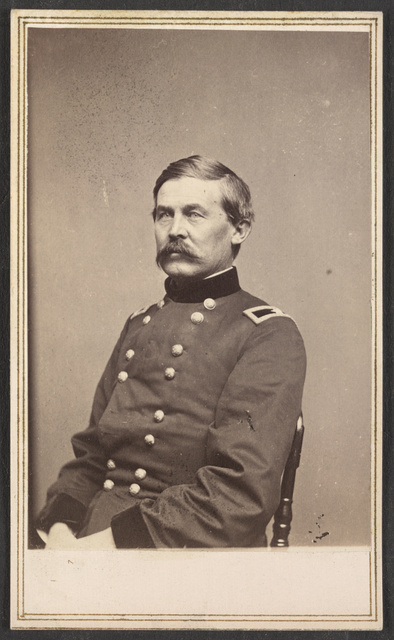 [General John Buford of General Staff U.S. Volunteers Infantry Regiment in uniform] / From photographic negative in Brady's National Portrait Gallery.