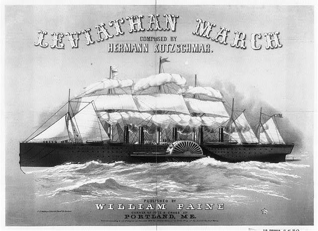 Leviathan march composed by Hermann Kotzschmar