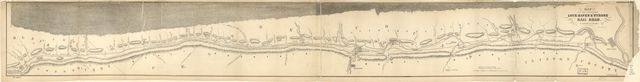 Map of the proposed Lock Haven & Tyrone Rail Road, by J. M. McMinn, Esqr. Civil Engineer.