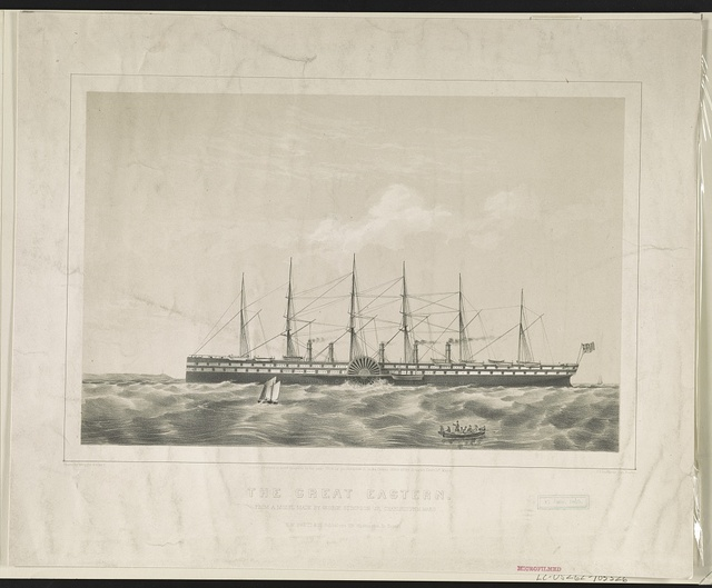 The Great Eastern / photo. by Whipple & Black ; J.H. Bufford's lith., Boston.