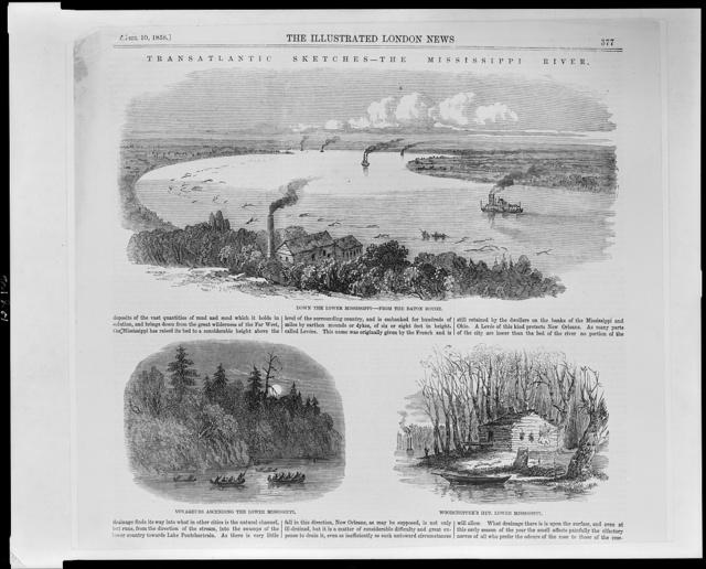 Transatlantic sketches--the Mississippi River