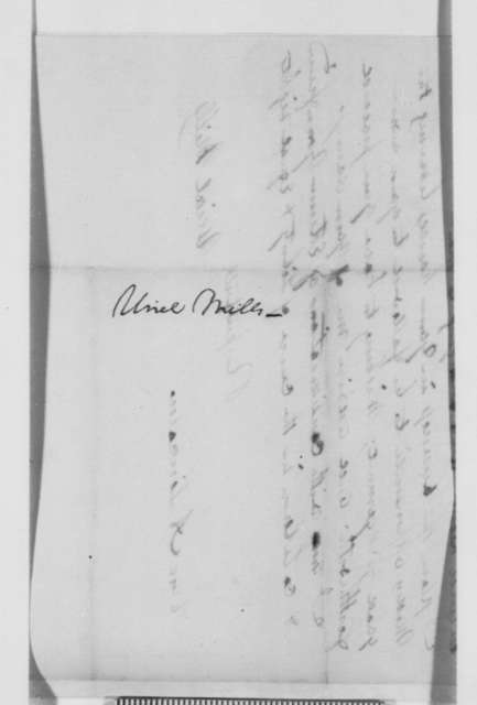 Urial Mills to Abraham Lincoln, Friday, July 09, 1858  (Legal)
