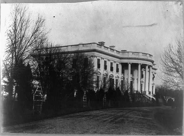 White House, S. front
