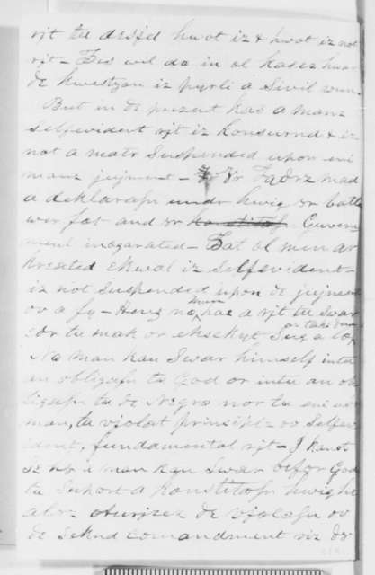 A. B. Pikard to Abraham Lincoln, Saturday, August 06, 1859  (Subscription list for Washington Patriot)