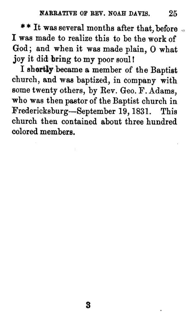 A narrative of the life of Rev. Noah Davis, a colored man,