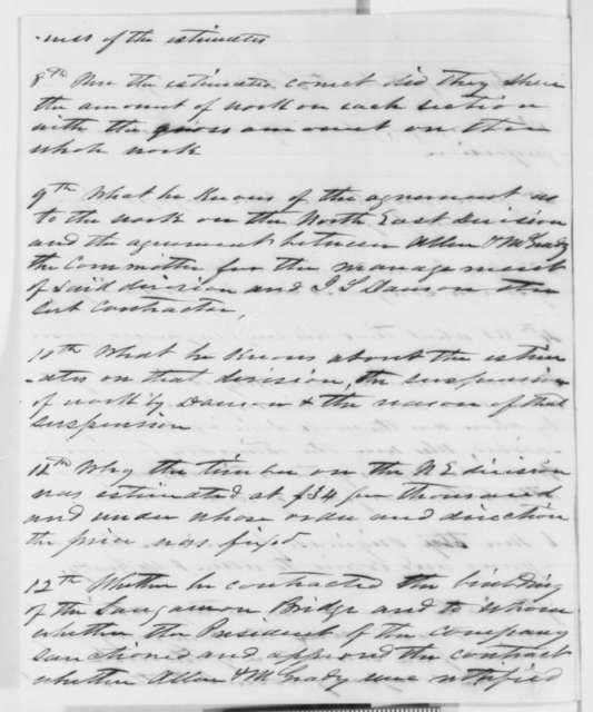 Allen & McGrady to Lincoln & Herndon, Monday, November 07, 1859  (Legal matters)