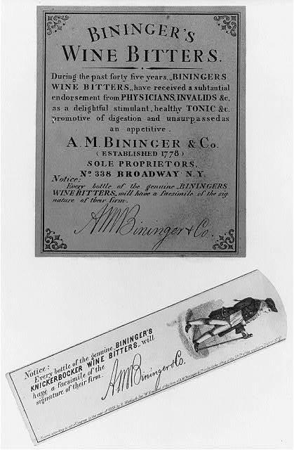 Bininger's Wine Bitters