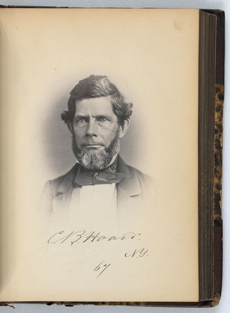 [Charles B. Hoard, Representative from New York, Thirty-fifth Congress, half-length portrait]