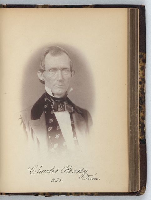 [Charles Ready, Representative from Tennessee, Thirty-fifth Congress, half-length portrait]
