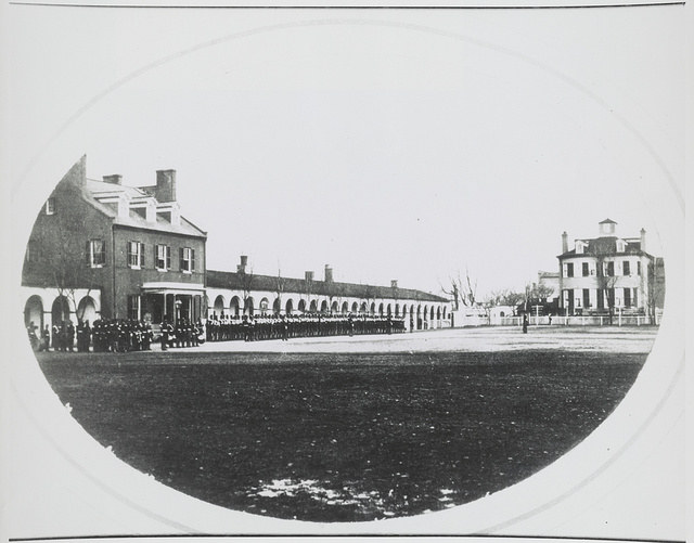 [Commandant's house at the U.S. Marine Corps Barracks, Washington, D.C.]