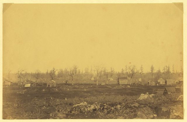 [Community adjacent to the fur trading post at Fort Victoria on Vancouver Island, British Columbia]