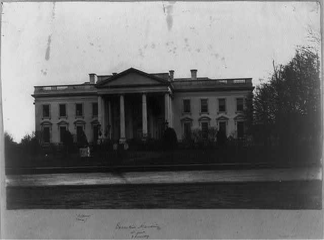 Executive Mansion, N.  front