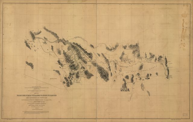 From the Pimas villages to Fort Fillmore : from explorations and surveys /