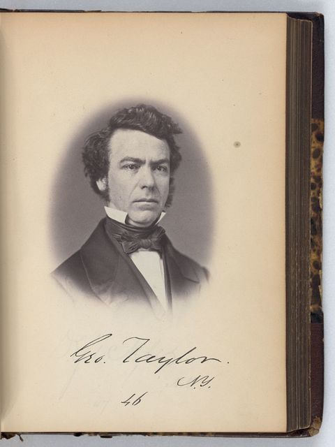[George Taylor, Representative from New York, Thirty-fifth Congress, half-length portrait]