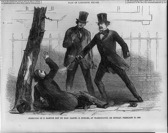 Homicide of P. Barton Key by Hon. Daniel E. Sickles, at Washington, on Sunday, Feb. 27, 1859