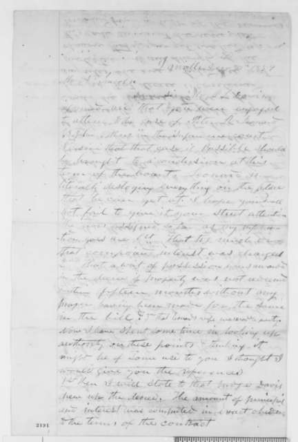 J. Kilbourn to Abraham Lincoln, Friday, December 30, 1859  (Legal matters)