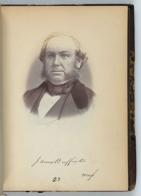 [James Buffinton, Representative from Massachusetts, Thirty-fifth Congress, half-length portrait]