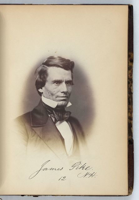 [James Pike, Representative from New Hampshire, Thirty-fifth Congress, half-length portrait]