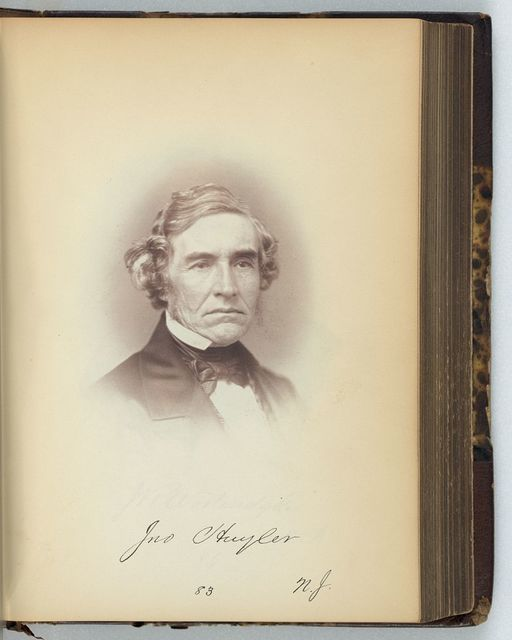 [John Huyler, Representative from New Jersey, Thirty-fifth Congress, half-length portrait]