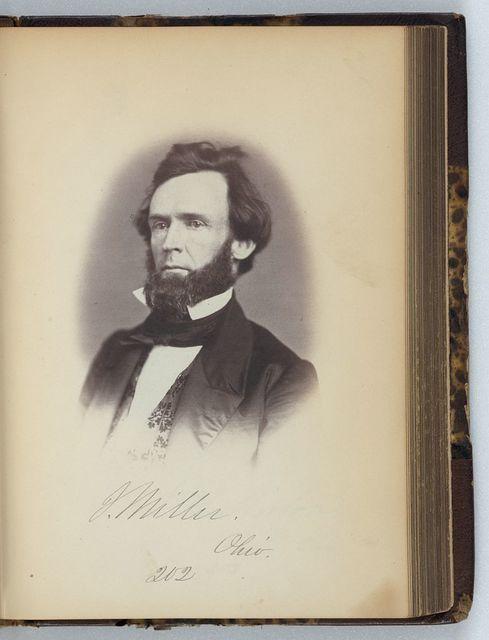 [Joseph Miller, Representative from Ohio, Thirty-fifth Congress, half-length portrait]