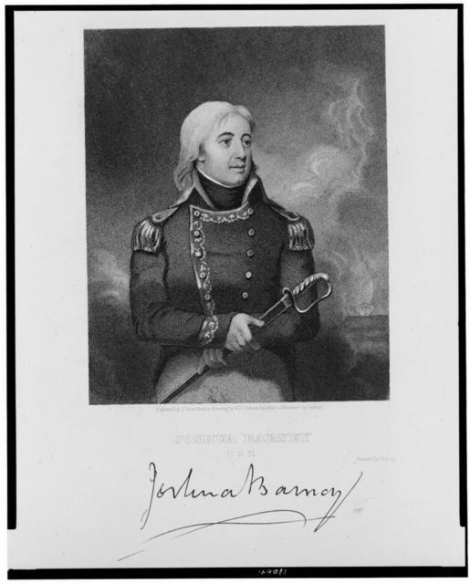 Joshua Barney, U.S.N. / engraved by J. Gross from a drawing by W.G. Armstrong after a miniature by Isabey.