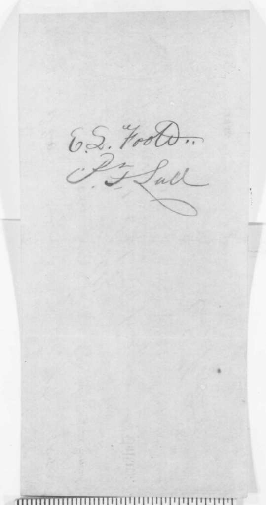 Norman B. Judd to Abraham Lincoln, Monday, August 22, 1859  (Promissory note; legal matters)