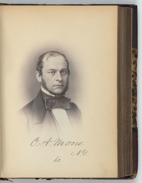 [Oliver A. Morse, Representative from New York, Thirty-fifth Congress, half-length portrait]