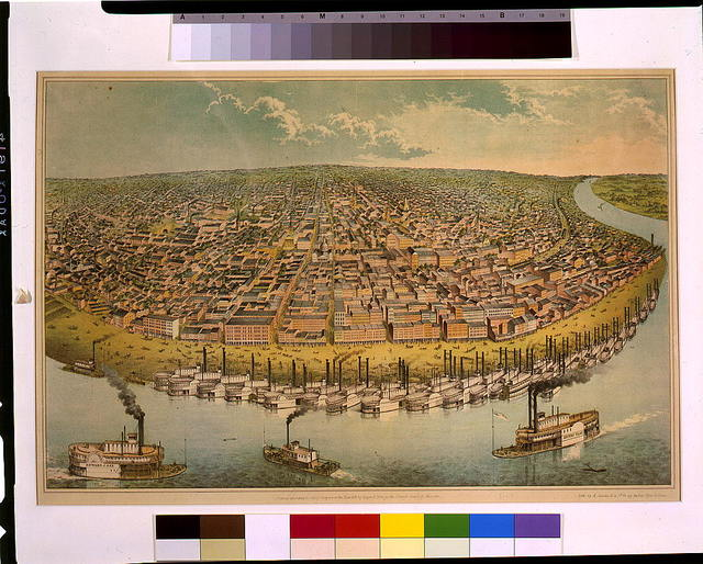 Our city, (St. Louis, Mo.) / lith. by A. Janicke & Co., St. Louis.