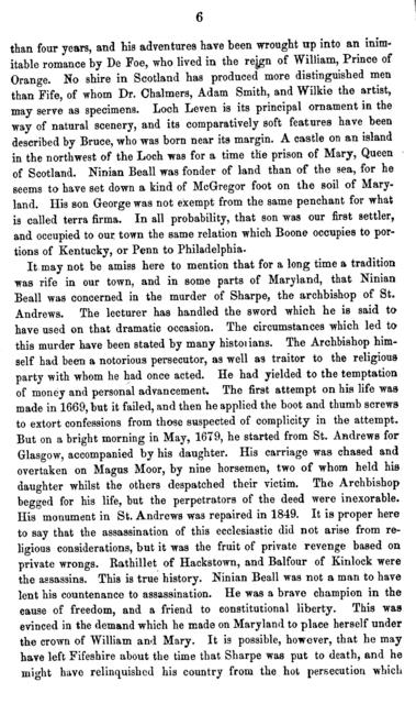 Reminiscences of Georgetown, D.C. : second lecture delivered in the Meth. Protestant Church, Georgetown, D.C., March 9, 1859 /