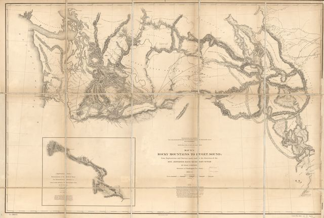 Rocky Mountains to Puget Sound : from explorations and surveys /