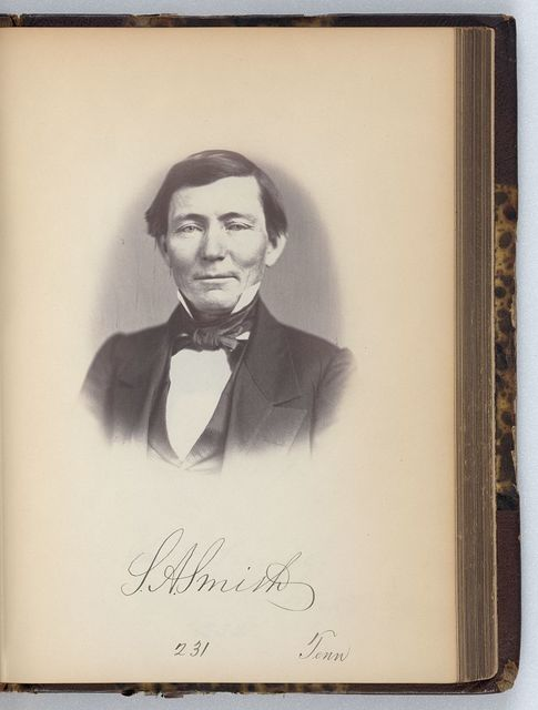 [Samuel A. Smith, Representative from Tennessee, Thirty-fifth Congress, half-length portrait]