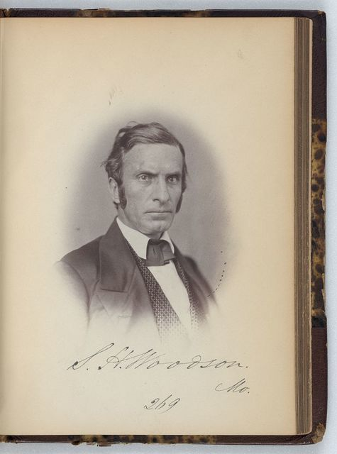 [Samuel H. Woodson, Representative from Missouri, Thirty-fifth Congress, half-length portrait]