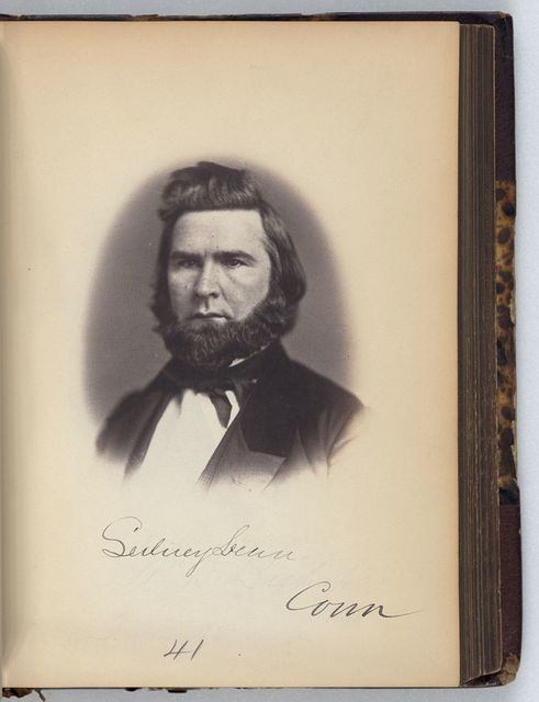 [Sidney Dean, Representative from Connecticut, Thirty-fifth Congress, half-length portrait]