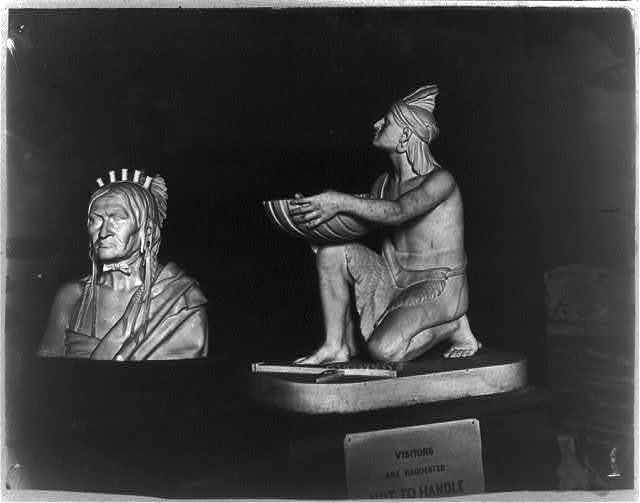 [Statues of Native Americans in the U.S. Capitol]
