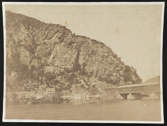 The hill opposite Harper's Ferry and commanding the town