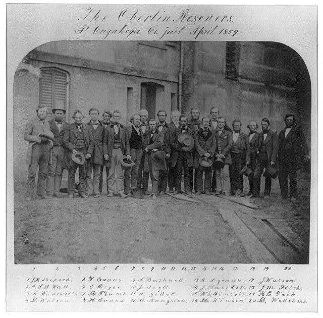 The Oberlin rescuers at Cuyahoga Co. jail