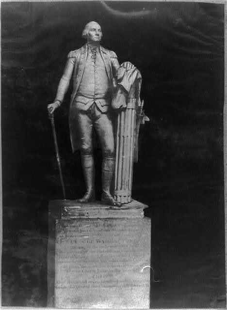 """Washington"" by Houdon. Original in State-house at Richmond, Va."