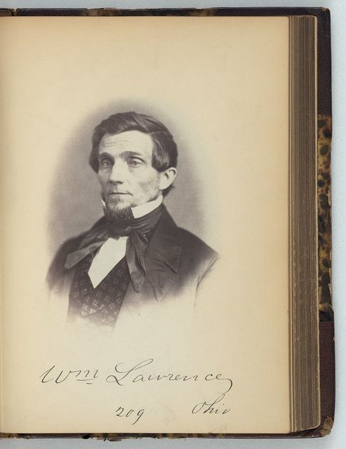 [William Lawrence, Representative from Ohio, Thirty-fifth Congress, half-length portrait]
