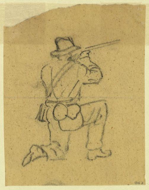 [A kneeling rifleman]