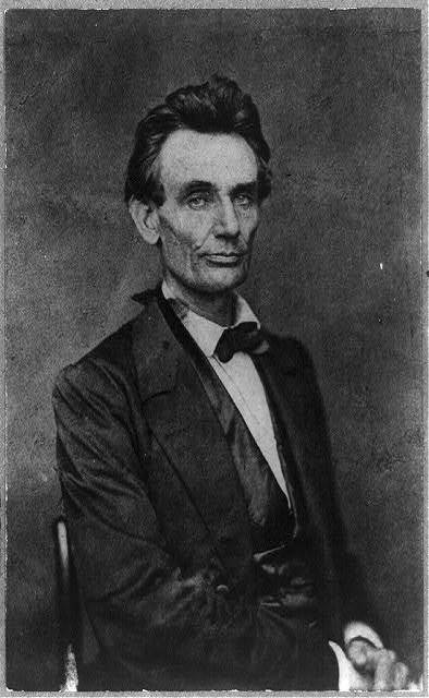 [Abraham Lincoln, candidate for U.S. president, half-length portrait, looking right, May 20,1860]