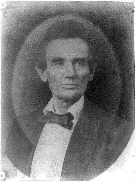 [Abraham Lincoln, head-and-shoulders portrait. Copy of photo by Joseph Hill]