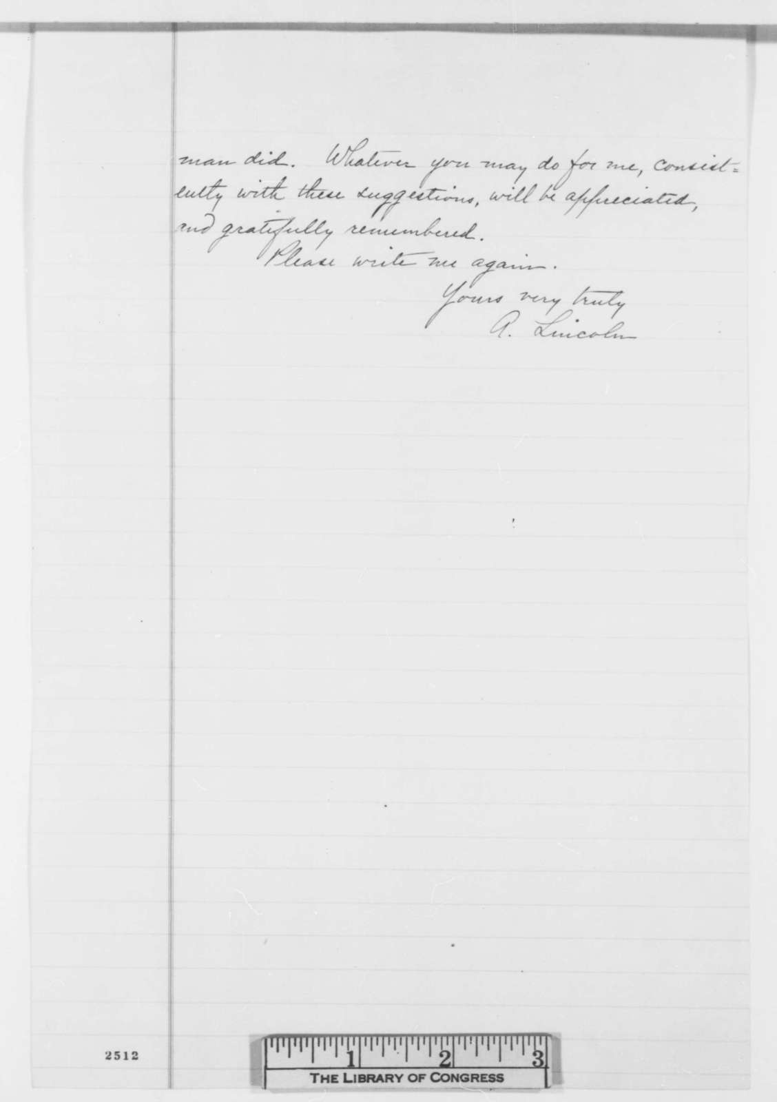 abraham lincoln to samuel galloway saturday march 24 1860