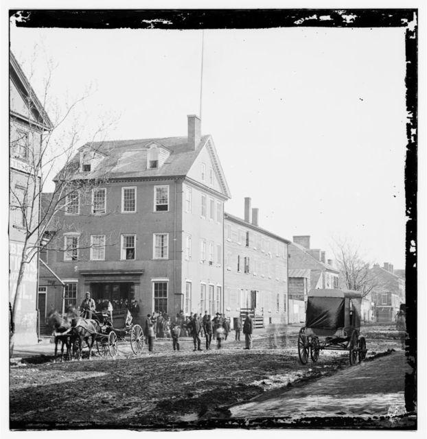 [Alexandria, Va.  The Marshall House, King and Pitt Streets]