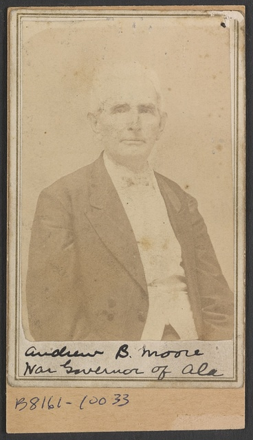 Andrew B. Moore, war governor of Ala.