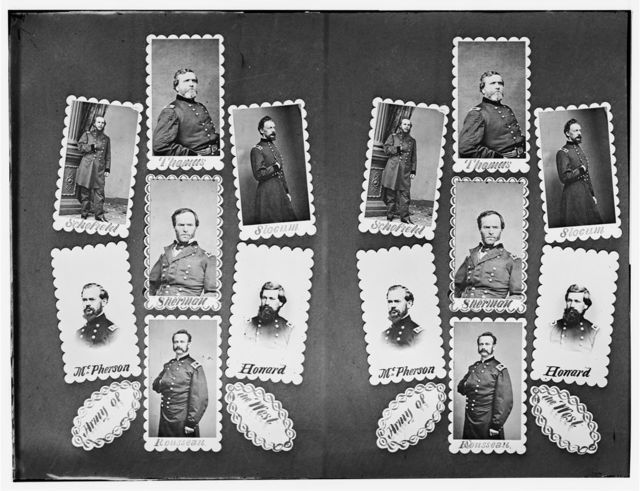 Army of the West: Schofield, Thomas, Slocum, McPherson, Sherman, Howard, and Rousseau
