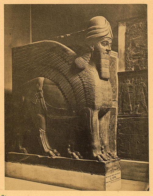 Assyria - Portal Guardian from Nimroud. British Museum