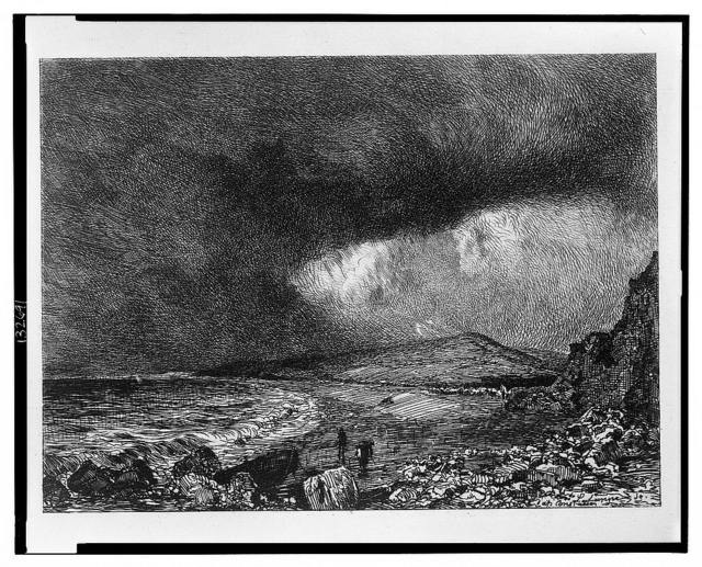 Baie de Weymouth (Constable) / Lalanne sc. d'ap. Constable.