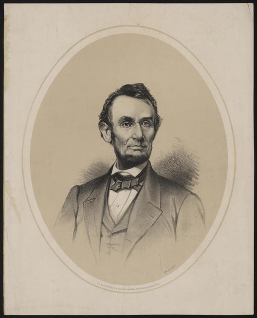 [Berger portrait of Lincoln.]