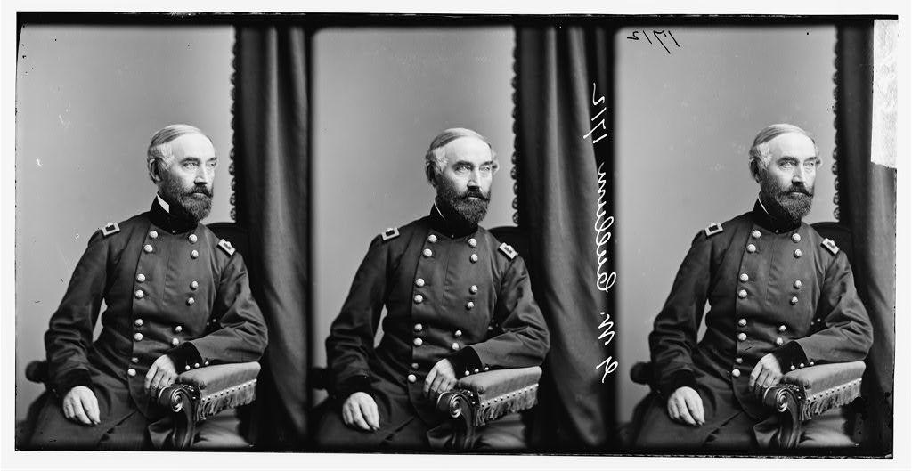 Brig. Gen. G.W. Cullum was appointed Chief of Staff to General Henry W. Halleck